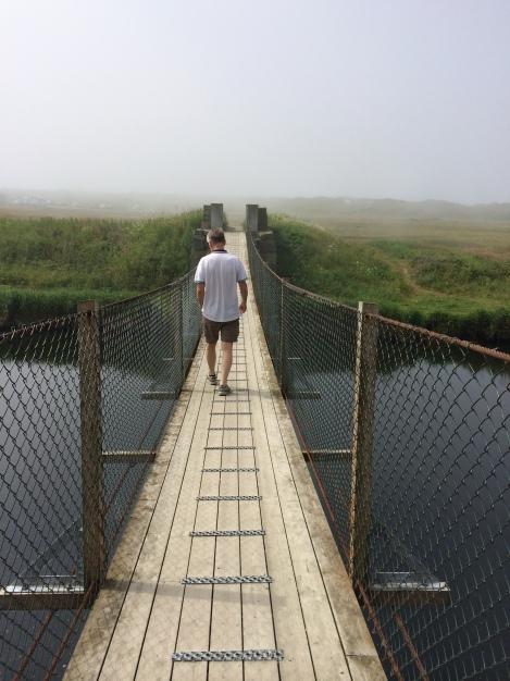 Bro over elva på Bore
