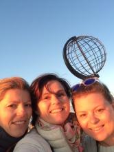 Besøker Stine på Nordkapp
