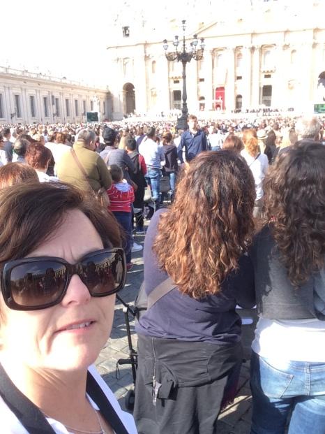 Besøker paven i Roma